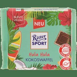 שוקולד ריטר וופל קוקוס