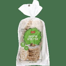 פריכיות אורז מלא שופרסל