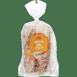 פריכיות אורז 5דגנים שופר