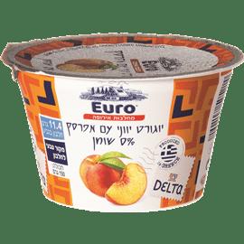 יוגורט עם אפרסק 0%