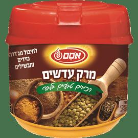 מרק עדשים רכיבים טבעיים