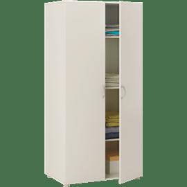 ארון 2 דלתות זיפי לבן