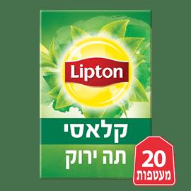 תה ירוק קלאסי ליפטון