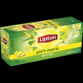 תה ירוק נגיעות לימון