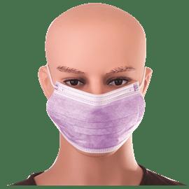 מסכה כירורגית סגולה