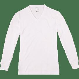 חולצת פלנל לבנה