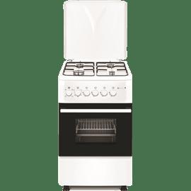 תנור משולב צר לבן