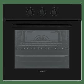 תנור אפיה בנוי שחור