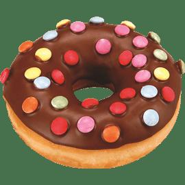 דונאט מצופה+סוכריות