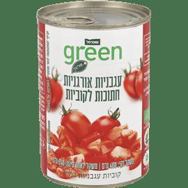 עגבניות אורגניות קוביות