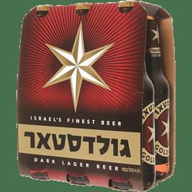 בירה גולדסטאר בקבוקים