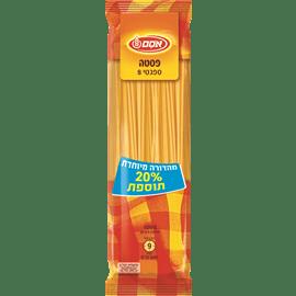 ספגטי 20% תוספת