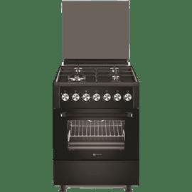 תנור משולב רחב שחור
