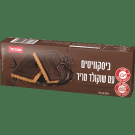 ביסקוויט עם שוקולד מריר