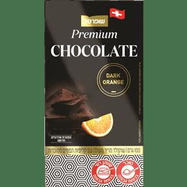 שוקולד מריר72% בטעם תפוז