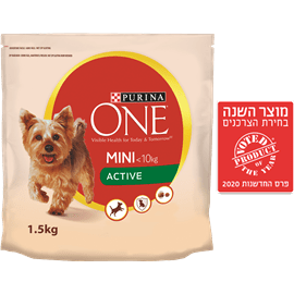 ONE מזון לכלב מיני עוף