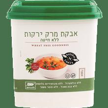 אבקת מרק ירקות ללא גלוטן
