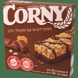 קורני חטיפי דגנים+שוקולד