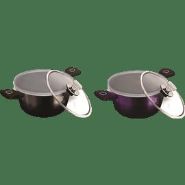 סיר  purple&black