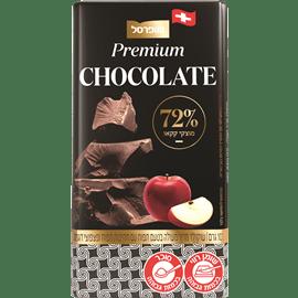 """שוקולד 72% מריר+תפו""""ע"""