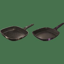מחבת גריל purple&black