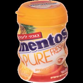 מנטוס מסטיק פירות טרופי
