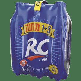 R.C קולה 1+5 במארז