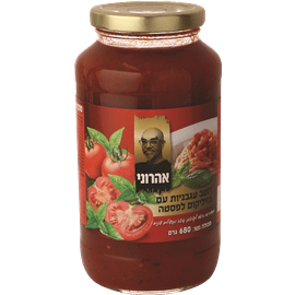 רוטב עגבניות ובזיליקום ל