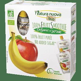 סמוזי תפוח בננה אורגני