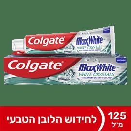 משחת שיניים מקס ווייט נש