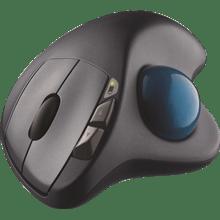עכבר אלחוטי שחור כחול