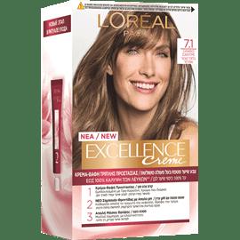 צבע שיער אקסלנס 7.1