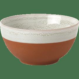 צלחת מרק קרמיקה טרקוטה
