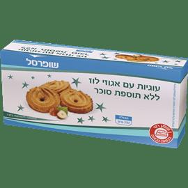 """עוגיות אגוזי לוז ללת""""ס"""