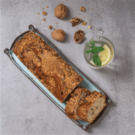 עוגת מאפין אגוזים