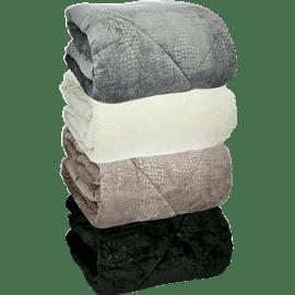 שמיכה ממולאת מיקרופלנל