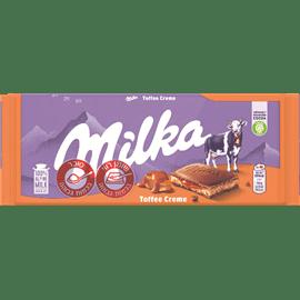 שוקולד מילקה במילוי קרמל