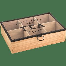 קופסת אחסון לתה