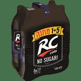 אר.סי. ללא סוכר 5 + 1