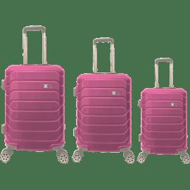 סט3 מזוודות PC ורווד