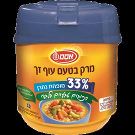 מרק טעם עוף33%דל נתרן