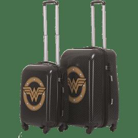 סט 2 מזוודות וונדרוומן