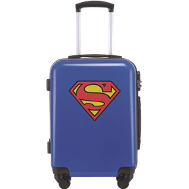 מזוודה בודדת סופרמן לוגו