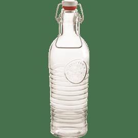 בקבוק מים תבליט זכוכית
