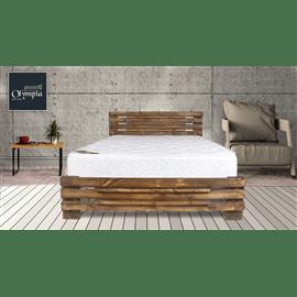 מיטה זוגית מעץ אורן מלא במבחר מידות