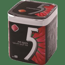 מסטיק 5 בוקס תות