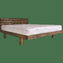 מיטה מעץ מלא כולל מזרן