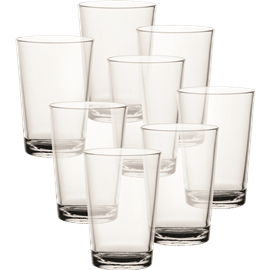 סט 6 כוסות זכוכית