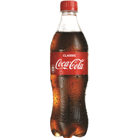 קוקה קולה בקבוק פלסטיק