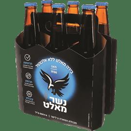 בירה נשר מאלט בקבוק חוזר